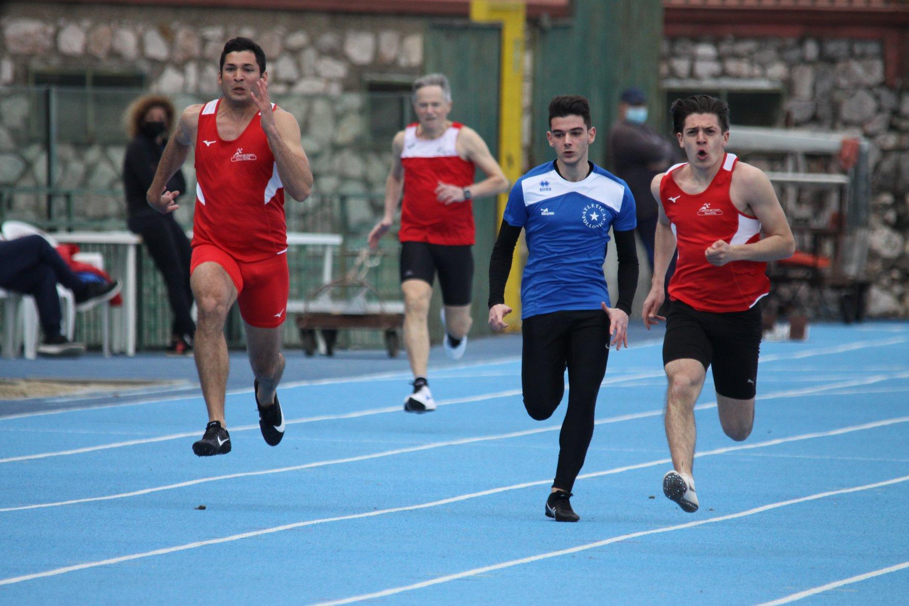 Atletica-il-biancorosso-Cipriani-sui-100-metri