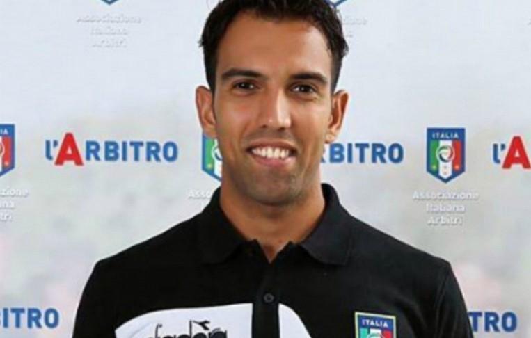 Luca Angelucci arbitro di Foligno