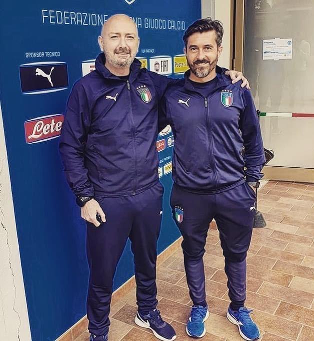 Fabrizio Ricci (a sinistra) e Christian Morgia - foto gentile concessione dell'Us Grosseto