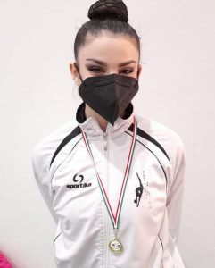 ginnastica-grifone-Cecilia-Modanesi-2°-classificata-palla-e-cerchio-vice-campione-Regionale.