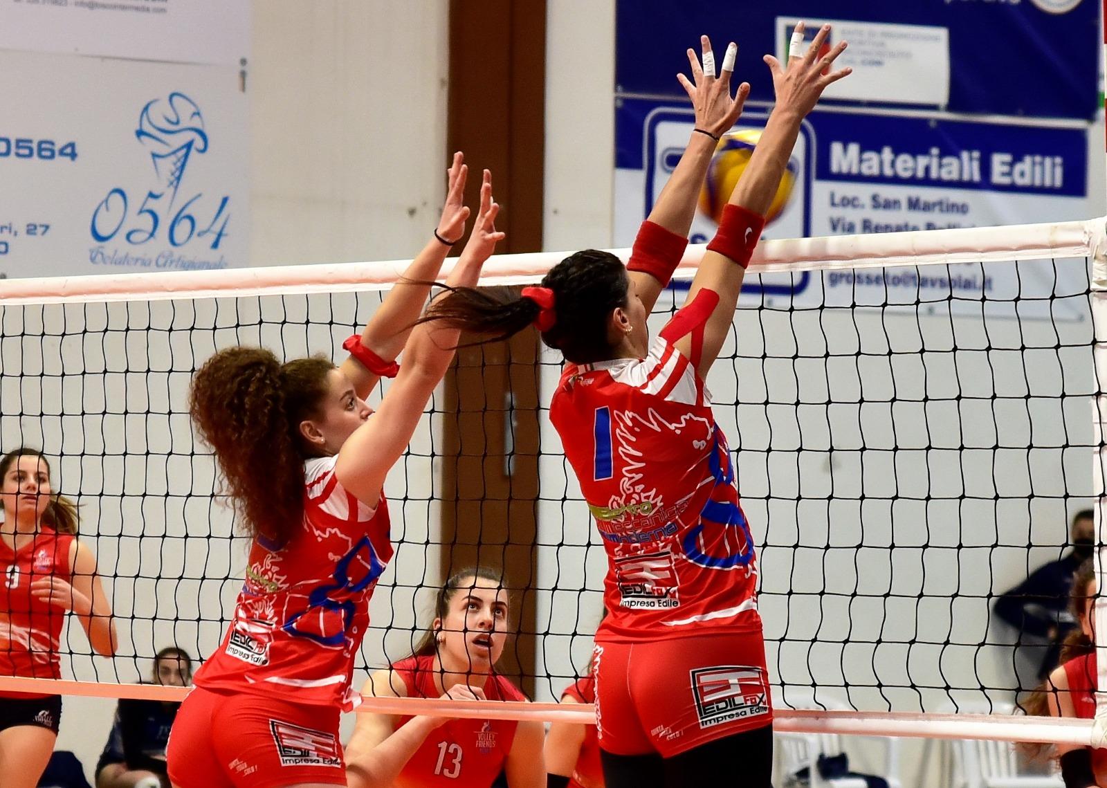 grosseto-volley-school-serie-B2-azione-di-gioco