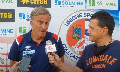 Gs Tv - mister Cacitti dopo Us Follonica Gavorrano-Grassina 2 a 4