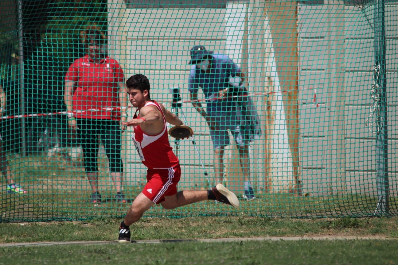 atletica-matteo-Pittau-lancio-del-disco-Grosseto-2021