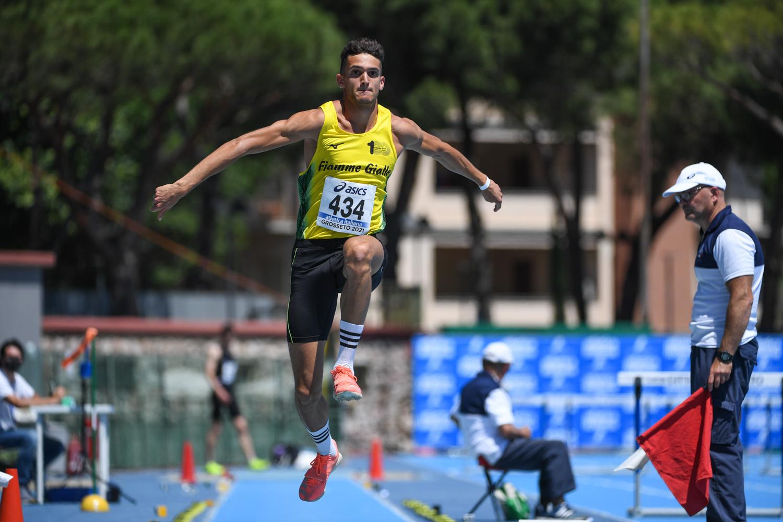 atletica-sandro-Dallavalle-salto-in-lungo-Grosseto-2021