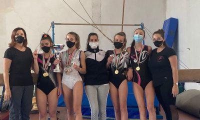 ginnastica-artistica-squadra-atlete-polisportiva-barbanella-uno-impegnate-nel-campionato-italiano-uisp-di-cesentatico
