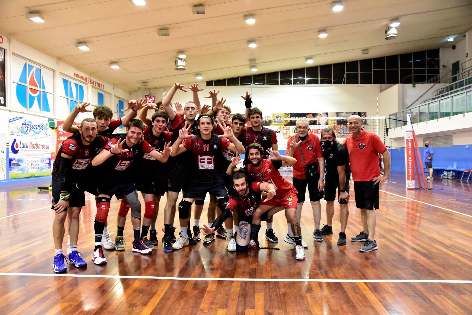 invictavolleyball-squadra-coppa-italia-serie-D-gara-uno-Volley-Prato