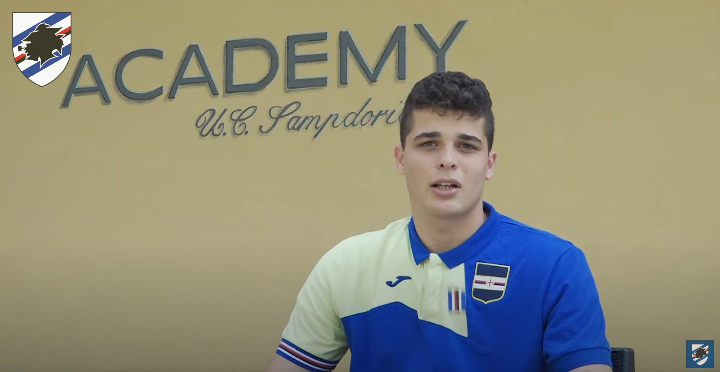 Lorenzo Avogadri - YouTube Uc Sampdoria