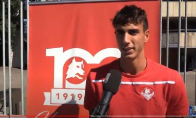 Lorenzo Babbi (immagine tratta dal canale YouTube di Tele Libertà)