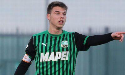 Federico Artioli (foto tratta da www.sassuolocalcio.it)