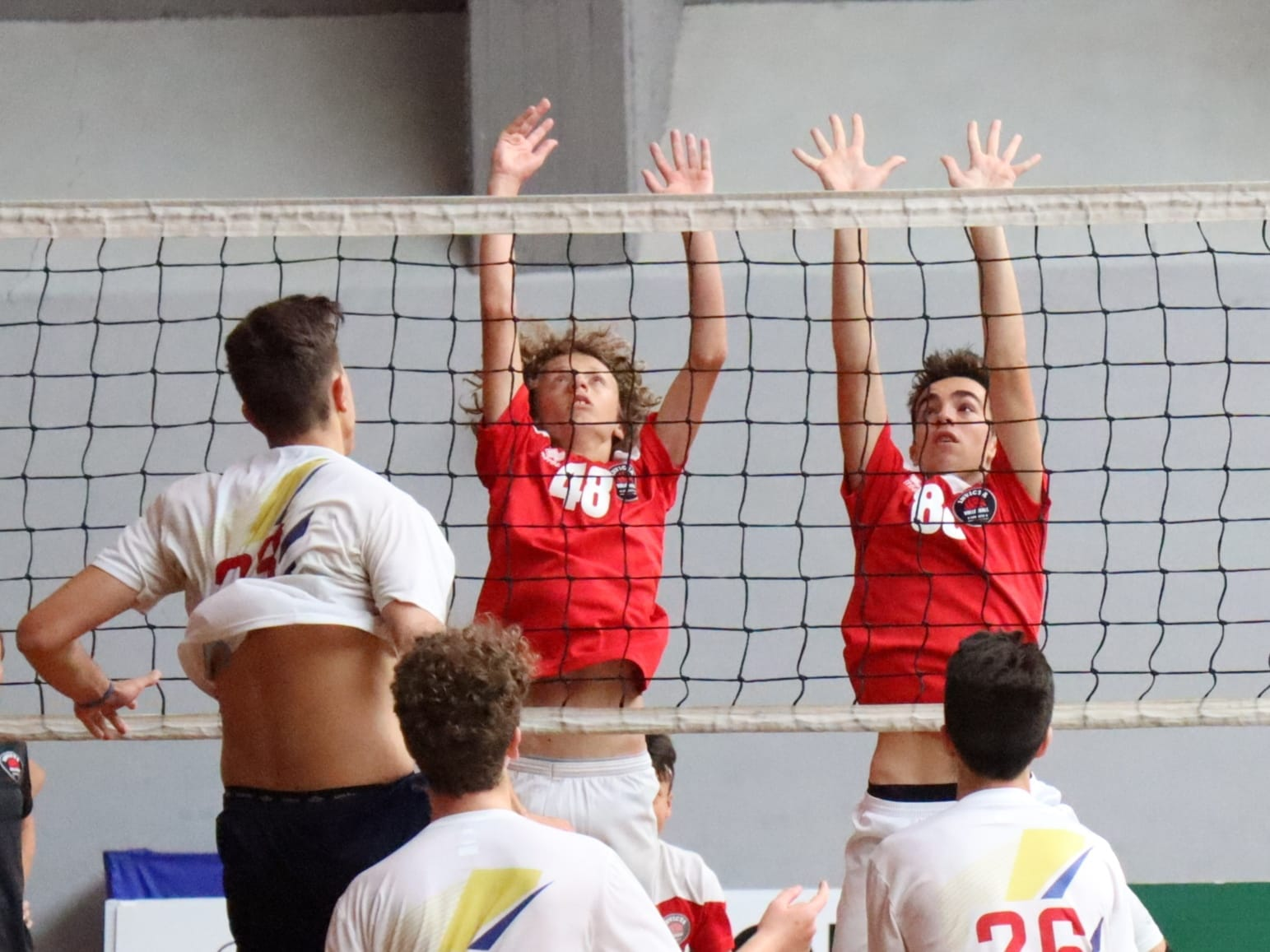 invictavolleyball squadra under 15 quarta alle finali nazionali muro