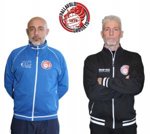 pallavolo-grosseto-1978-sx-allenatore-stefano-spina-dx-rossano-rossi