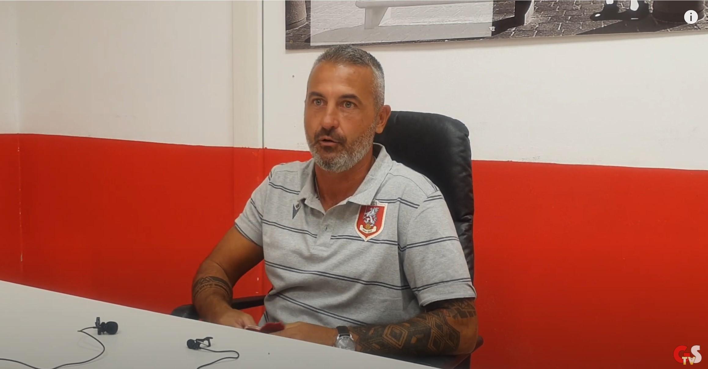 Gs Tv - mister Stefani dopo Us Grosseto-Modena 0 a 0