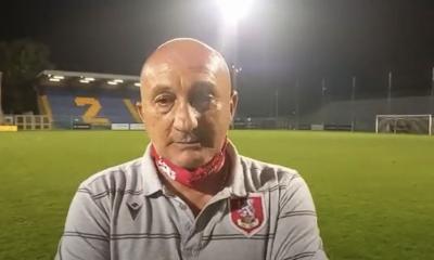 Gs Tv - mister Magrini dopo Fermana-Us Grosseto 2 a 0