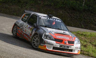 Nella foto di Marco Ferretti, Forieri-Alicervi su Clio S1600 al Trofeo Maremma 2020